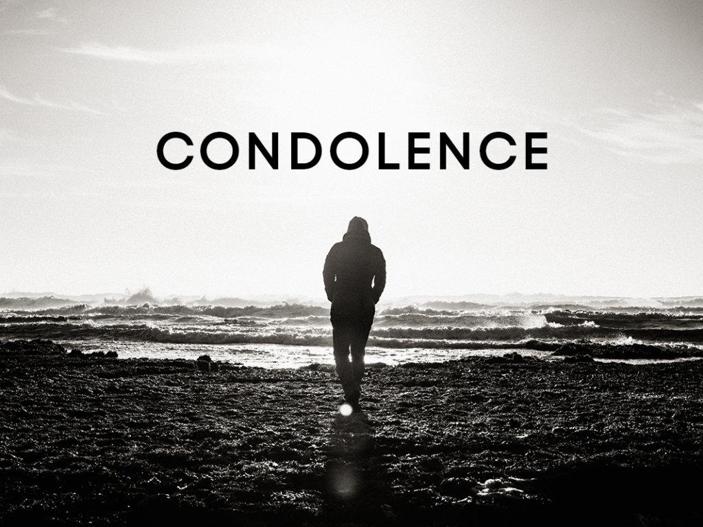 #19 Condolence