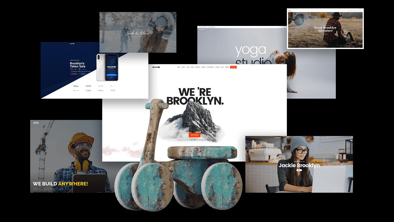 Brooklyn 4.7   ThemeForest Power Elite Author WordPress Theme